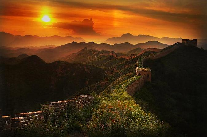 Private day tour:hiking across Gubeikou Great Wall to jinshanling Great Wall