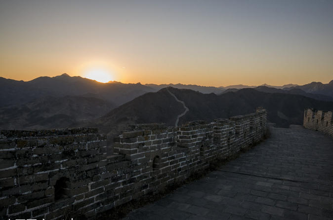 VIP Private Day Tour to Huanghuacheng Great Wall