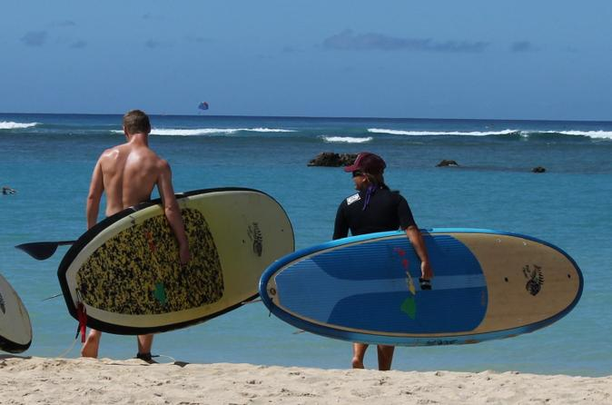 Private Stand Up Paddle Boarding Lesson at Ala Moana Beach Park