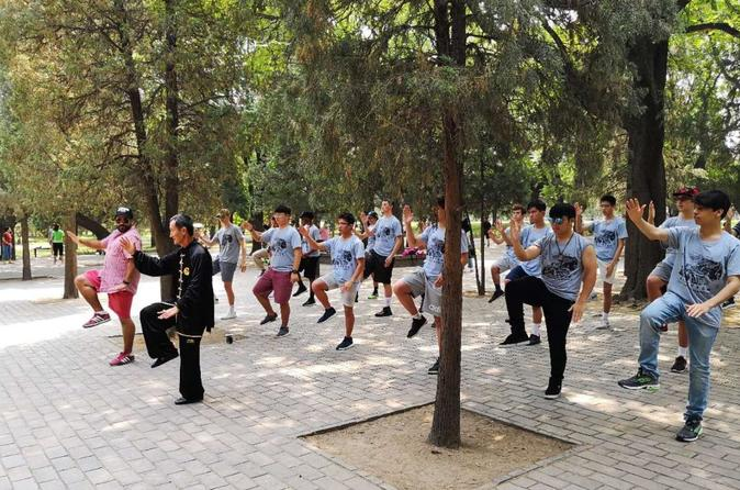 Private Half-day Tour: Temple of Heaven Visit  with Tai Chi Class