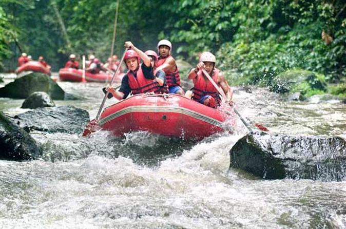 Bali Paintball and White Water Rafting Tour