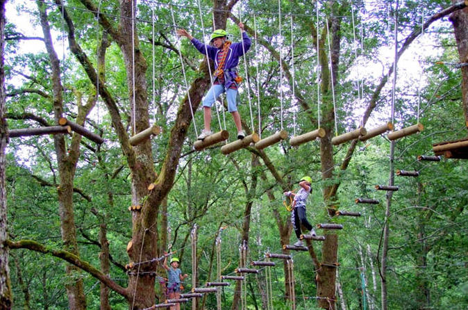 Full-Day Bali Treetop Adventure Park Visit with Jatiluwih Rice Terrace Tour""