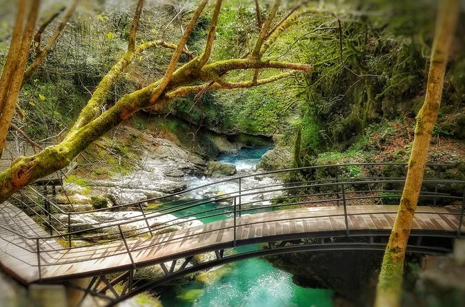 Martvili Canyon, Prometheus Cave Natural Monument,Gelati Monastery