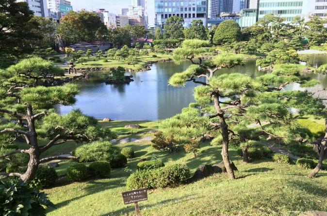 Japanese Garden Tour and Sake Tasting in Tokyo