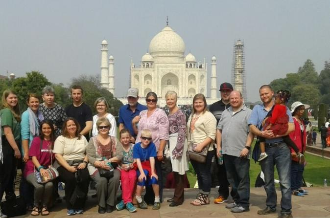 SAME DAY AGRA TRIP (TAJ MAHAL & AGRA FORT) with Tour Guide