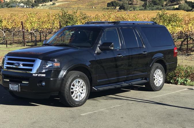 SUV Airport Transfer from SFO to Yountville (one way)