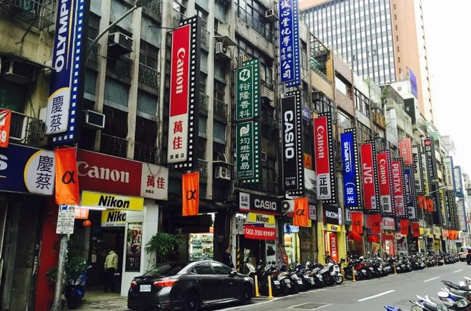 One Day Taipei City Highlights and Afternoon Shopping Tour