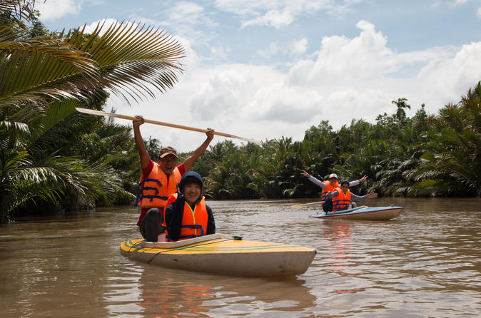 Ho Chi Minh City Mekong Delta Adventure With Coconut Village and Kayaking in Vietnam Asia