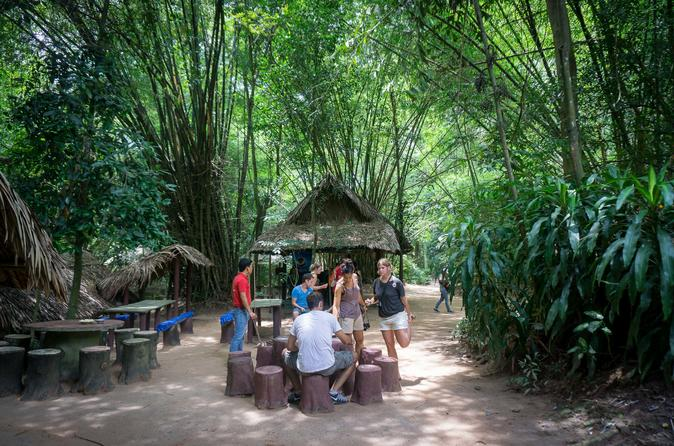 Morning cu chi tunnels tour from ho chi minh city in ho chi minh city 629439