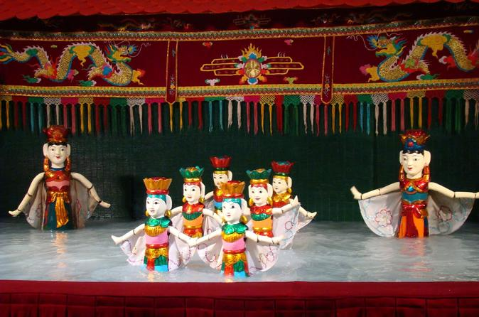 Water Puppet Show in Ho Chi Minh City with Ticket Hotel Delivery
