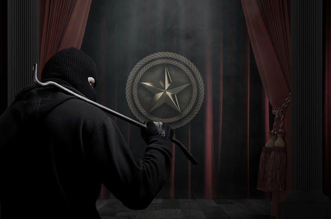 Theft of the Texas Lone Star Escape Room in Houston