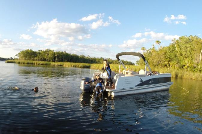 Semi private vip manatee tour pontoon of privilege in crystal river 333274