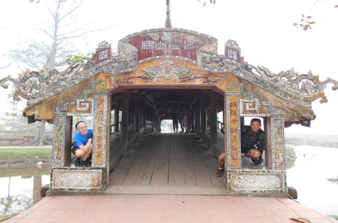 Full-Day Hue City and Perfume River Bike Tour