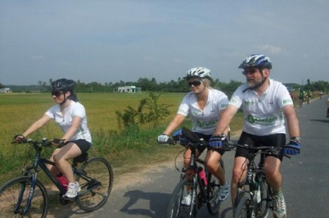 Ho Chi Minh City Half-Day Bike Tour Including Cu Chi Tunnels