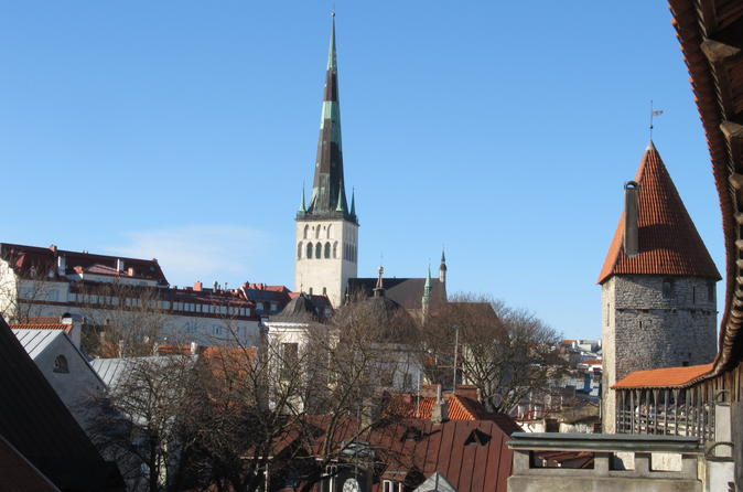 Private: 5-hour Best of Tallinn Tour with Marzipan Painting and Town Wall Visit