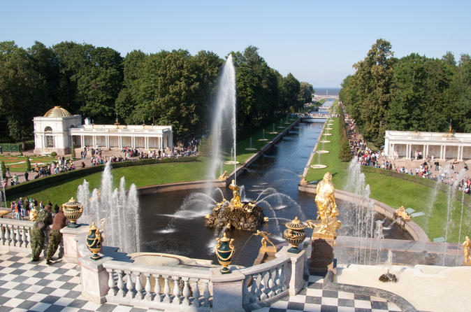 Private Day Trip by Hydrofoil: Peterhof Parks and Palaces from St.Petersburg