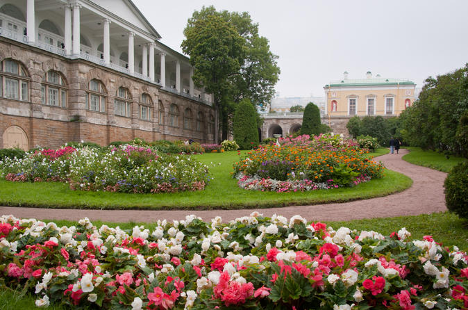 Skip-The-Line Private Tours: Tsarkoye Selo and Peterhof from St.Petersburg