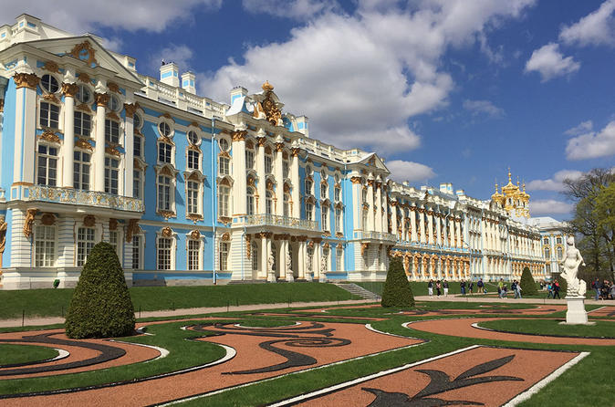 Small-Group Tour of Tzar's Village: Catherine Palace and Amber Room