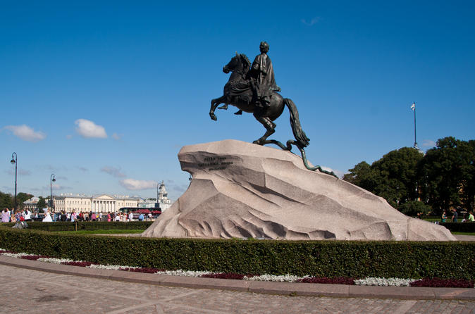St. Petersburg Private 3-Day Highlights Tour