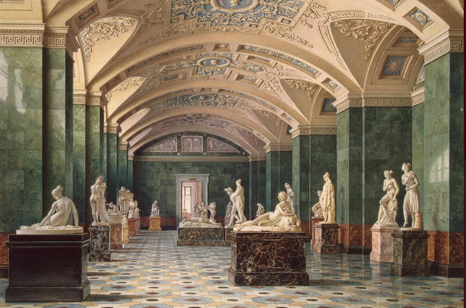 St.Petersburg Skip-The-Line Private Tour: 4-hour Hermitage Museum with Impressionists