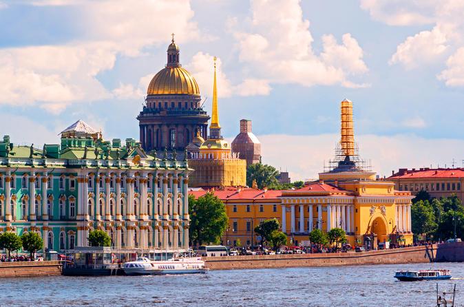 St Petersburg Shore Excursion: Comfort Visa-Free 2-day Tour
