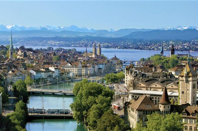 4-Hour Zurich and Surroundings PRIVATE TOUR Including Panoramic Views