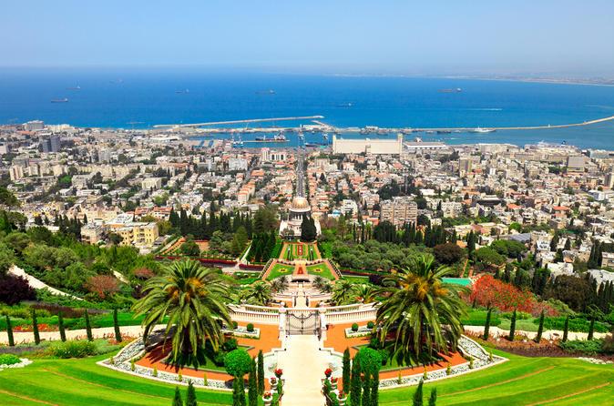 Caesarea Haifa Megiddo Akko Tour from Herzliya or Netanya