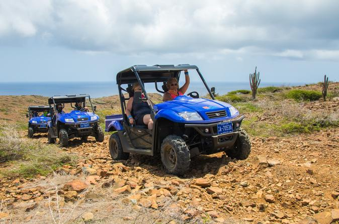 Small-Group Half-Day UTV Adventure Morning Tour in Aruba