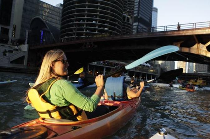 Chicago River Kayak Tour