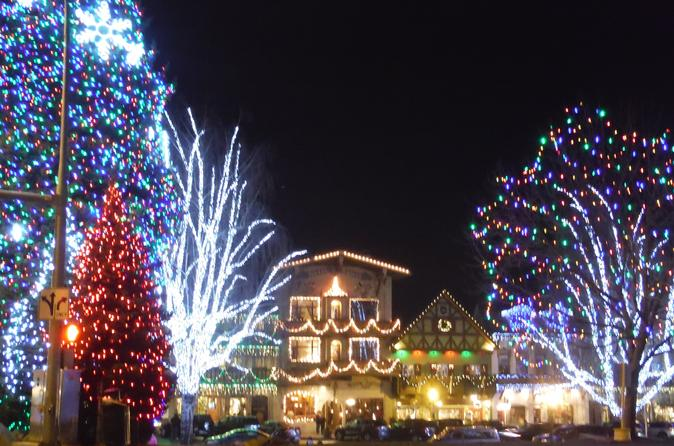 seattle christmas lights leavenworth tour from seattle in united states north america