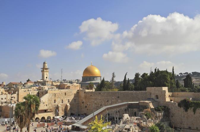 Excursão Terrestre em Ashdod: Passeio de um dia em Jerusalém e Belém