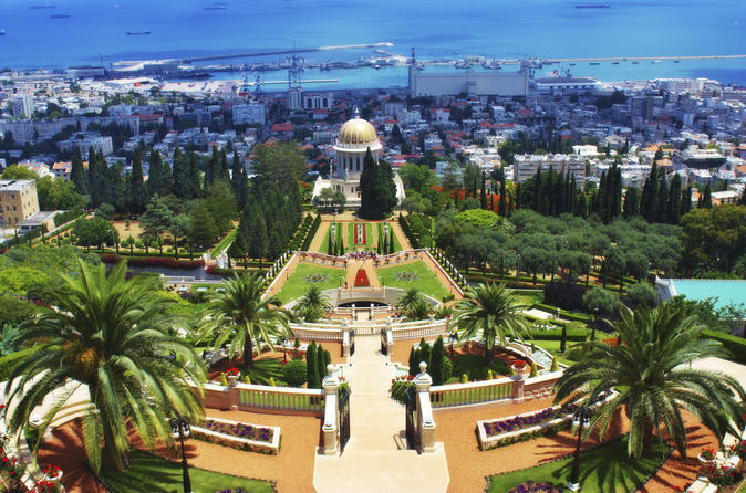 Excursão Terrestre em Haifa: Viagem de um dia para Nazaré e Galiléia
