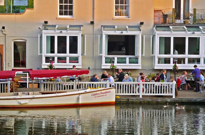 Exquisite Three Course Riverside Dining with Sundowner Cruise