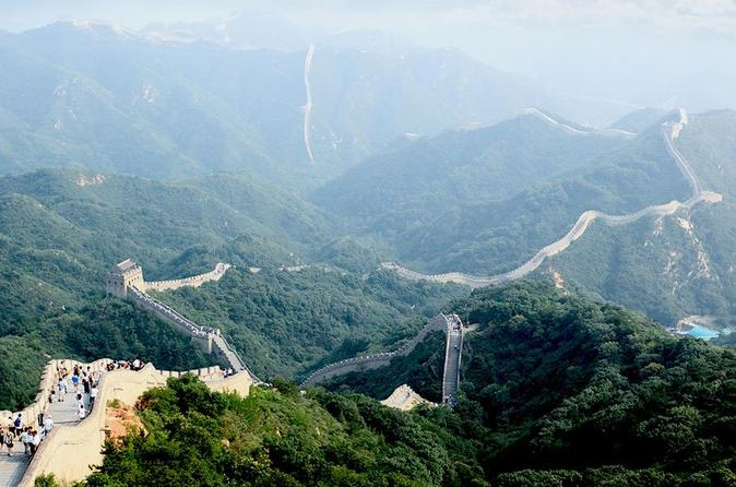 Badaling Great Wall and Ming Tombs Beijing Day Tour (Group, Professional Guide)