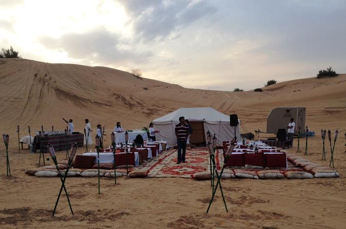Desert safari adventure at private dune bar