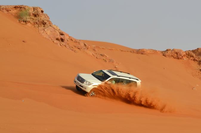 Evening Desert Safari in Private Vehicle
