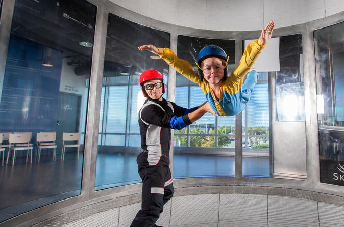 iFLY Toronto (WHITBY LOCATION): Indoor Skydiving Introductory Package
