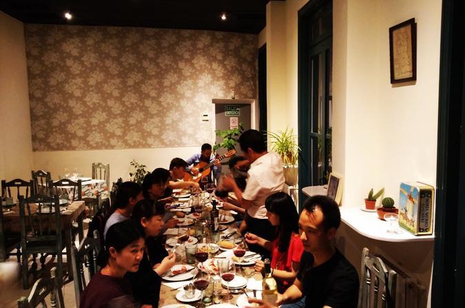 Flamenco guitar & Dinner