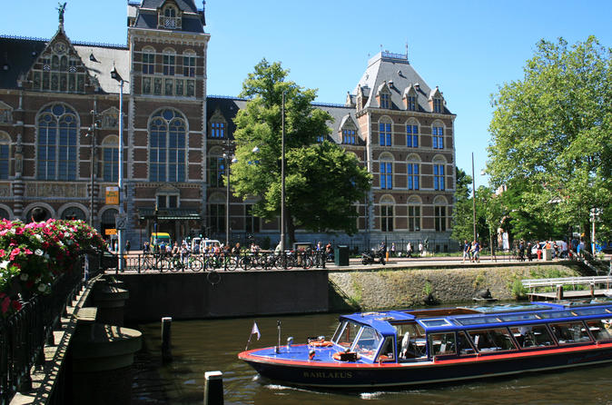 75 minute amsterdam canal cruise with rijksmuseum and heineken in amsterdam 290994