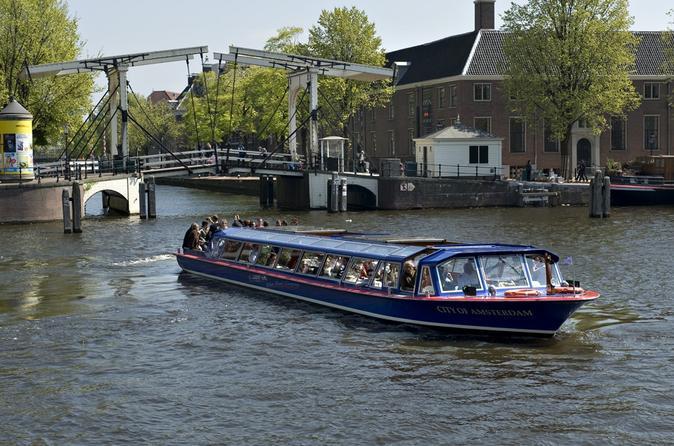 Cruzeiro pelos Canais da Cidade de Amsterdã e Museu Van Gogh
