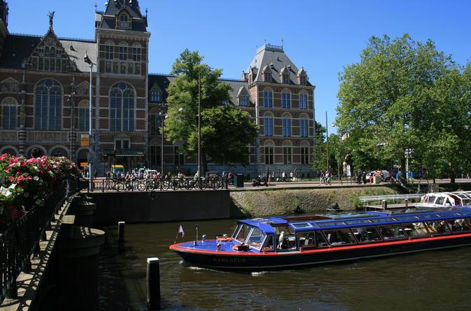 Cruzeiro pelos canais de Amsterdã e ingresso Evite as Filas para o Rijksmuseum