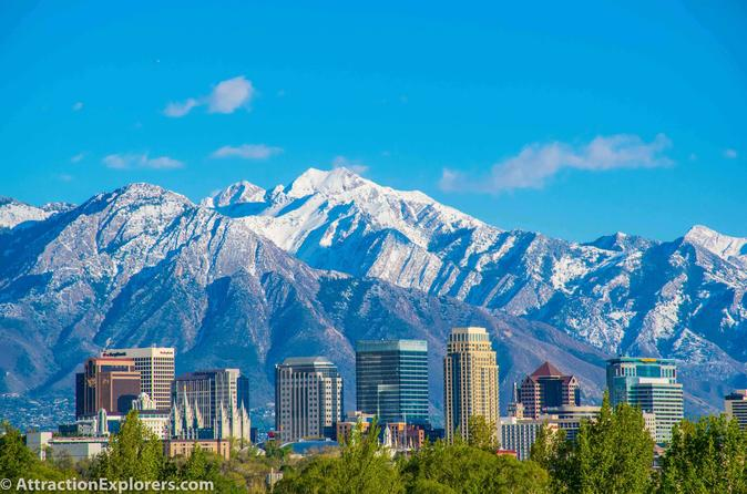 COMBO: Salt Lake City & Great Salt Lake Private Tour
