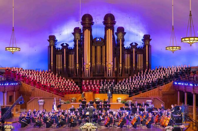 Mormon Tabernacle Choir and Ultimate Salt Lake City Tour