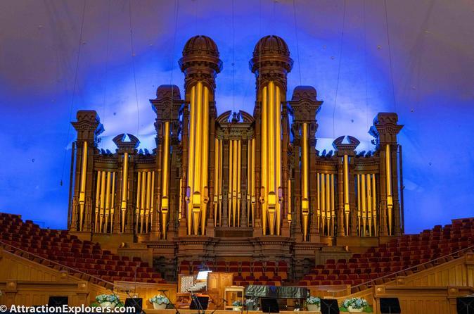Ultimate VIP Salt Lake City Tour with Mormon Tabernacle Organ Recital