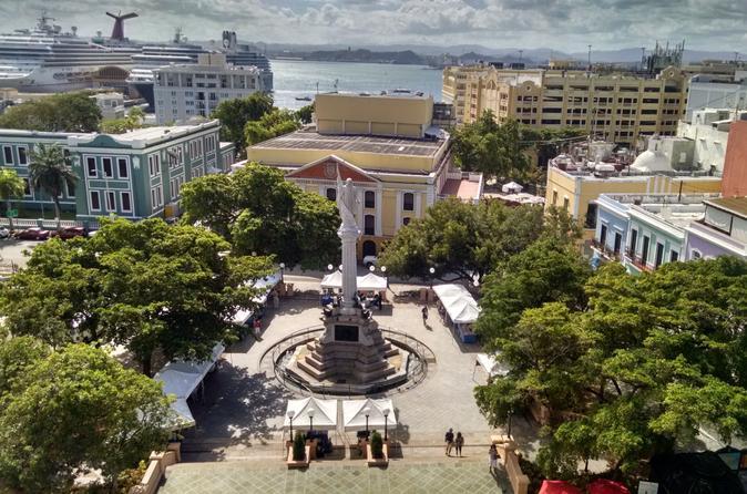 San Juan Historic Tour: Fort San Cristobal and Ruin of Caparra