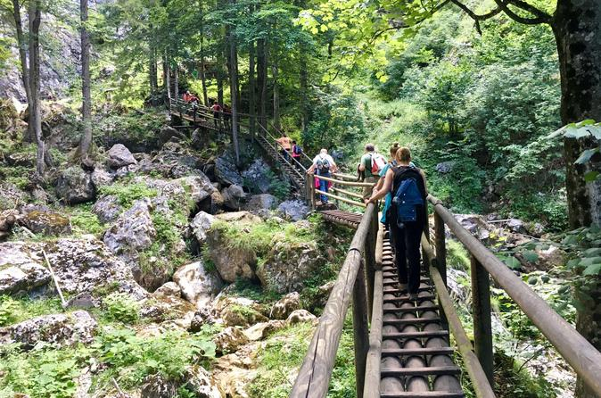 Conquering the canyon - Baerenschuetzklamm