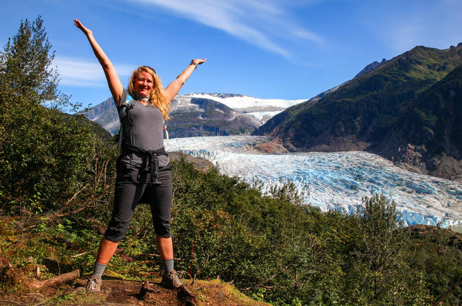 Adventure Hike Along Mendenhall Glacier and Alaskan Beer Tasting