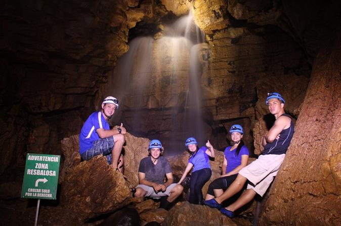 Venado Caves Underground Experience from La Fortuna