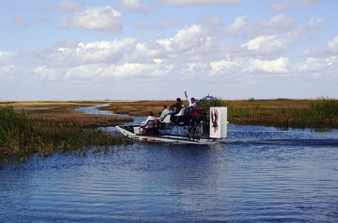 Private Everglades Airboat Tour from Miami