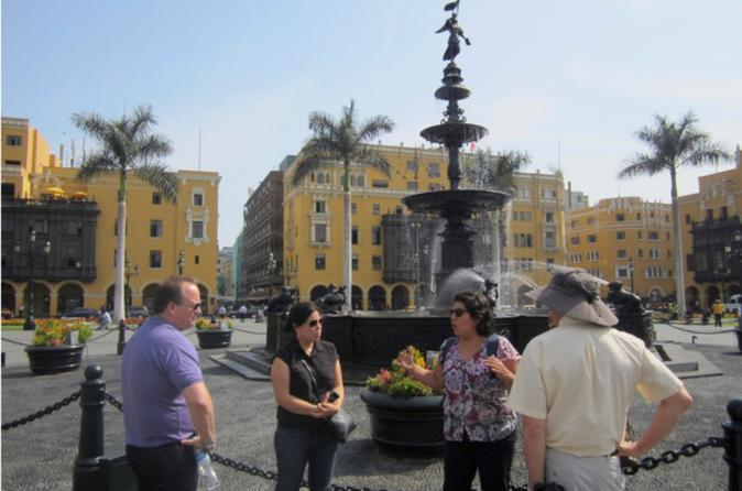 Lima Must-See Landmarks Small-Group Tour